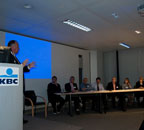 Internal presentation to KBC Bank in Brussels 2008